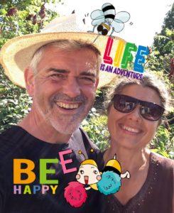 Bienen-stiften - das leben genießen