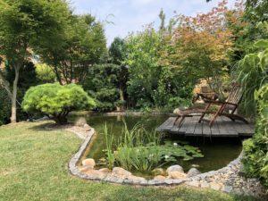 Gartenidyll - das leben genießen